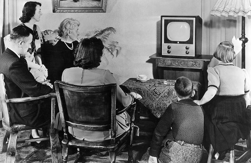 Eureka 1946 1950 eerste experimentele televisie uitzending for Van de tv